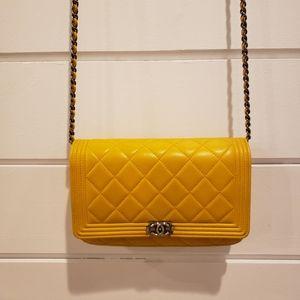 Chanel le boy WOC wallet on chain